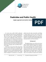 Logomasini and Zambone - Pesticides and Public Health