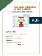 PROYECTO DE MECANICA PROTOTIPO DE CENTRIFUGADORA 1