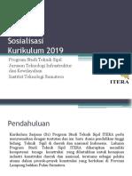 Sosialisasi Kurikulum 2019