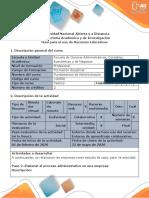 Guía para el uso de recursos educativos - Presentación de estudio de casos