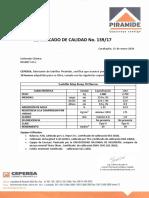 CERTIFICADO DE CALIDAD LADRILLO KING KONG PIRAMIDE