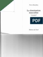 BOURDIEU_Domination Masculine_Intro Et Chap. 1