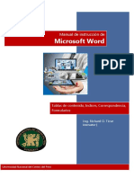 Word Combinacion Formularios