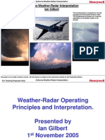 Airborne Weather Radar Interpretation