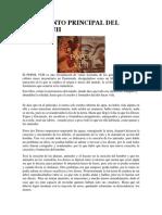 ARGUMENTO PRINCIPAL DEL POPOL VUH