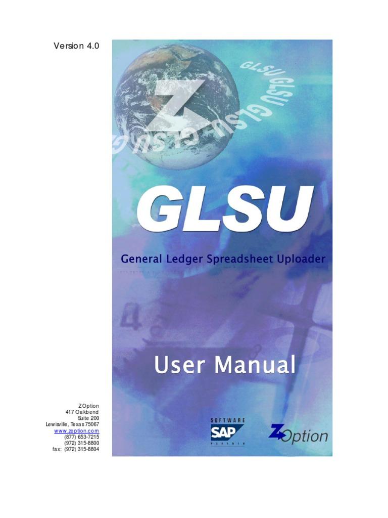 Map Glsu Manual Spreadsheet