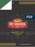 Cardápio web hot dog