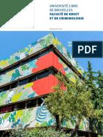 Brochure Droit 2019