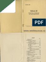 H.Dv.254 Pistole 38 (1940)