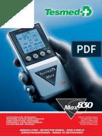 Max 830 Manuale