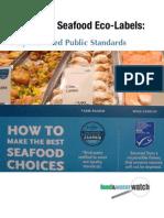 De-Coding Seafood Eco-Labels