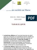 Droit des sociétés au Maroc