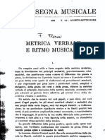 Flora F., Metrica verbale e ritmo musicale