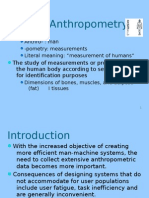 What is Anthropometry
