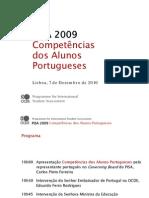 Relatório PISA/2009