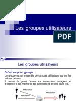 3_Les groupes utilisateurs