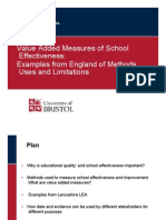 Measures of School Effectiveness