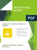 OBJETIVOS DEL MILENIO Y DE DESARROLLO SOSTENIBLE - copia
