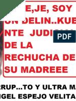 Masón Peruano Logra Declarar Fundada Queja de Derecho Contra Juez Extremadamente Delincuente Rudy Angel Espejo Velita