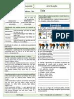Acentuação - Exercícios de fixação 1 - Resuminho + Exercícios (1)