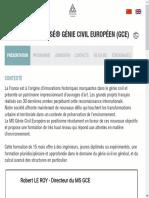 Mastère Spécialisé® Génie civil européen (GCE) _ enpc.fr