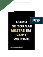 Como se tornar mestre em copywriting