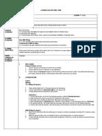Form 1 Lesson Plan (Writing)