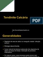 Tendinite Calcaria