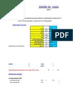 HOJA DE CALCULO ESTRUCTURAL