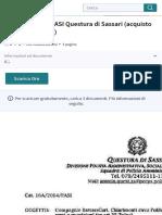 Prot. 16A:2014:PASI Questura di Sassari (acquisto armi e munizioni).pdf