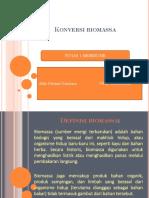 Meresume Konversi Biomassa