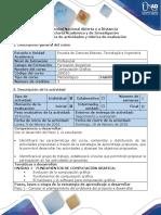 Guía de actividades y rúbrica de evaluación - Paso 1 - Conocer el planteamiento del problema del proyecto a desarrollar
