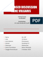 CASE BASED DISCUSSION ACNE VULGARIS