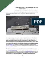Politica y estrategia para la paz en internet tras una ciberguerra