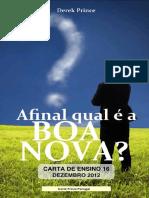 AFINAL QUAL É A BOA NOVA prot
