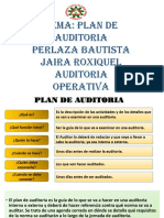 PLAN DE AUDITORIA