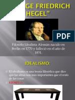 2 GEORGE FRIEDRICH HEGEL