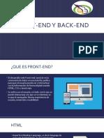 Front-end y back-end