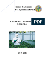 Proyecto Fungicidas