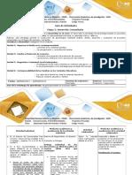 Guía y Rubrica  Etapa 2. Inmersion comunitaria (1)