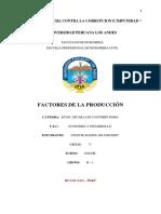 TRABAJO N° 5  - VICENTE - C1 -  FACTORES DE PRODUCCION