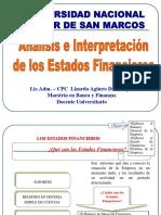 Clase 02  Análisis de Estados Financieros.