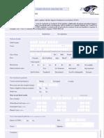 Patient Data Form