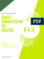 Direito Administrativo FCC