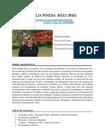 Clelia Pineda Báez -hoja de vida-2020