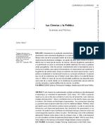 Carlos Matus - Ciencia y politica - Conferencia