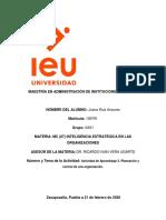 Actividad 3 Inteligencia Estrategica IEU