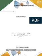 Paso I. Reconocimiento de herramientas contextuales