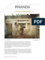 Rwanda Peacekeepers Meritorious Unit Citation