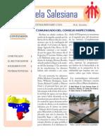 Venezuela Salesiana  - Boletín Extraordinario Nº 1